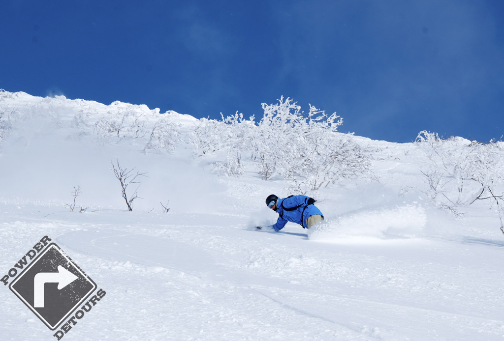Tristan laying it WAY over in the pow