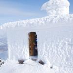 The peak hut