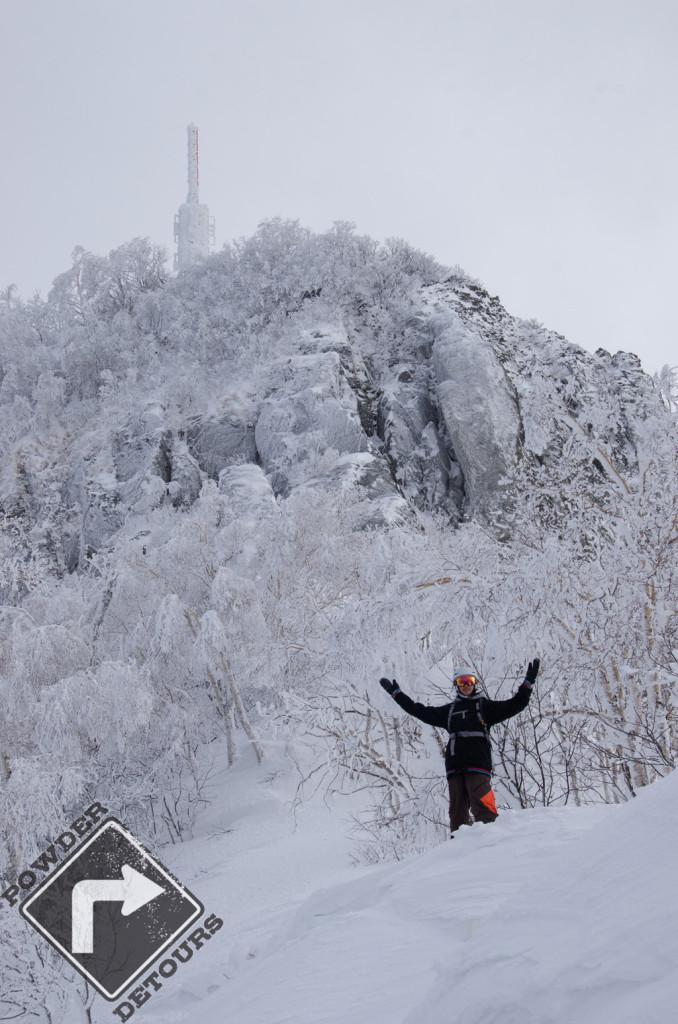 Dan at Sapporo Teine